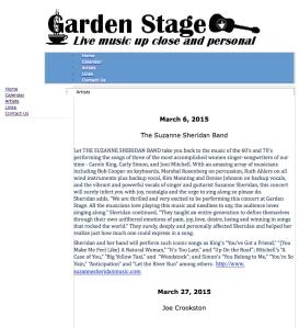 Garden Stage