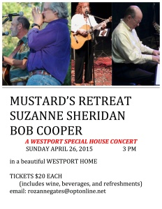 MUSTARD'S RETREAT INVITE FLYER